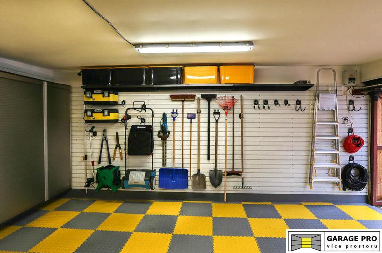 Realizace garáže 1