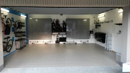 Nová garáž se systémy Garage Pro a Gladiator®