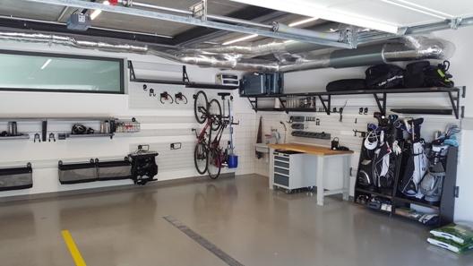Organizace nové garáže systémem Gladiator®