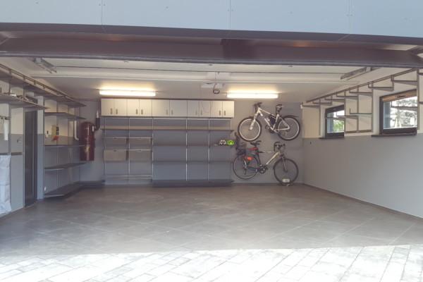 Dvojgaráž – organizace systémem Elfa® a Garage Pro