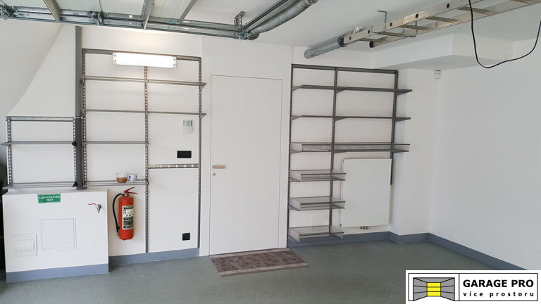 Realizace garáže 14