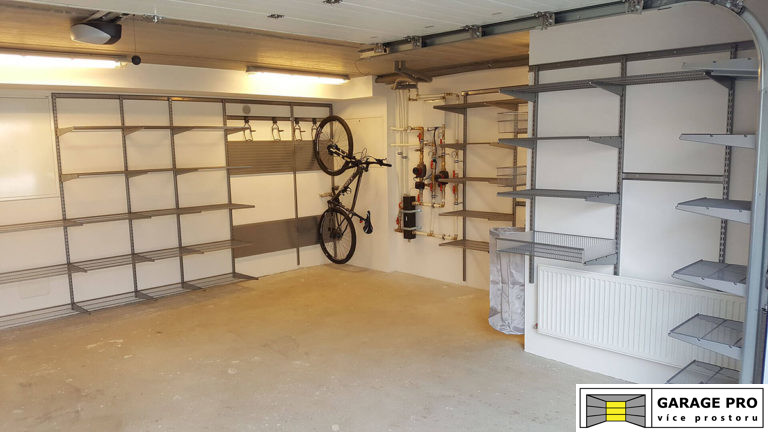Realizace garáže 18