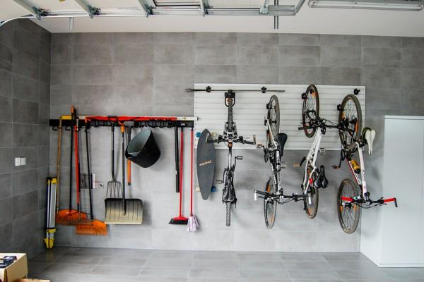 Technická místnost – řešení systémem Gladiator® a Garage Pro