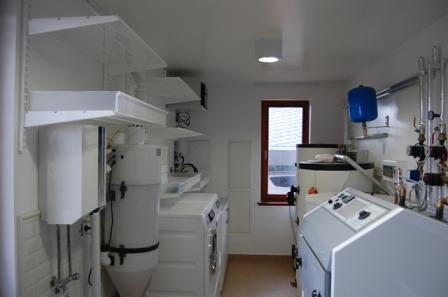 Technická místnost vybavená systémem ELFA