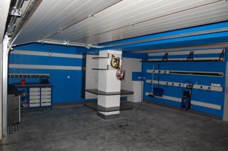 Velká garáž – instalace Gladiator® a nábytek Garage Pro