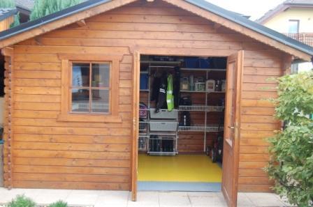 Zahradní domek – kompletní organizace systémem Elfa®
