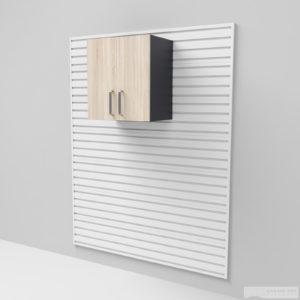 Nástěnná skříňka – dvířka 66 × 60 × 30 cm
