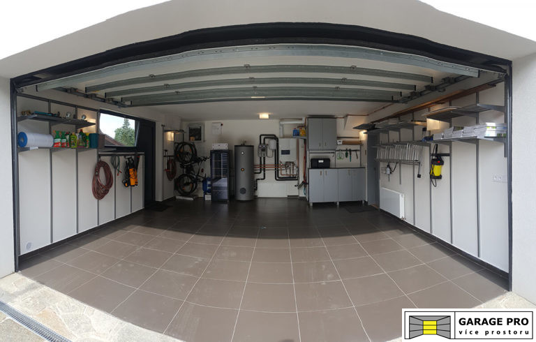 Realizace garáže – úložný systém ELFA