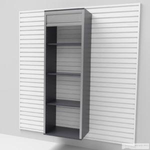 Vysoká úzká skříň – roleta 183 × 60 × 40 cm