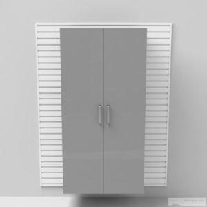 Vysoká široká skříň – dveře 183 × 91 × 50 cm