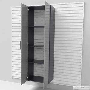 Vysoká úzká skříň – dveře 183 × 60 × 40 cm