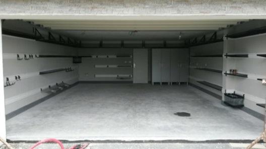 Garáž – organizační řešení systémem Gladiator® a Garage Pro