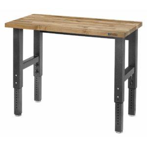 Pracovní stůl 122 cm, nastavitelná výška