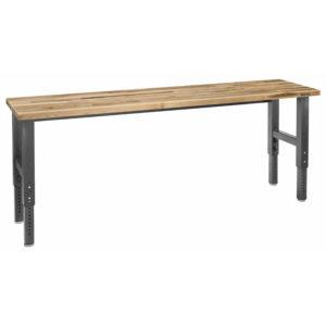 Pracovní stůl 244 cm, nastavitelná výška